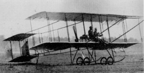The Henry Farman Biplane?The first flight of the Japanese history?