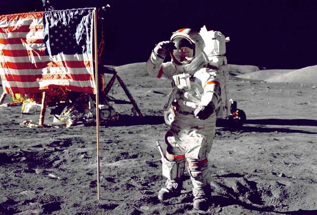 月面着陸時に着用されていたのがスピードマスター