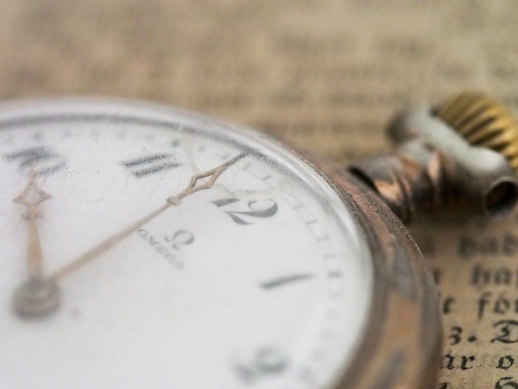オメガ懐中時計