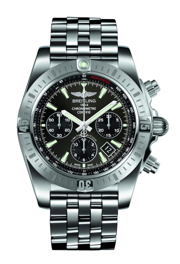 Chronomat JSP Limited Edition_Stratos Gray dial