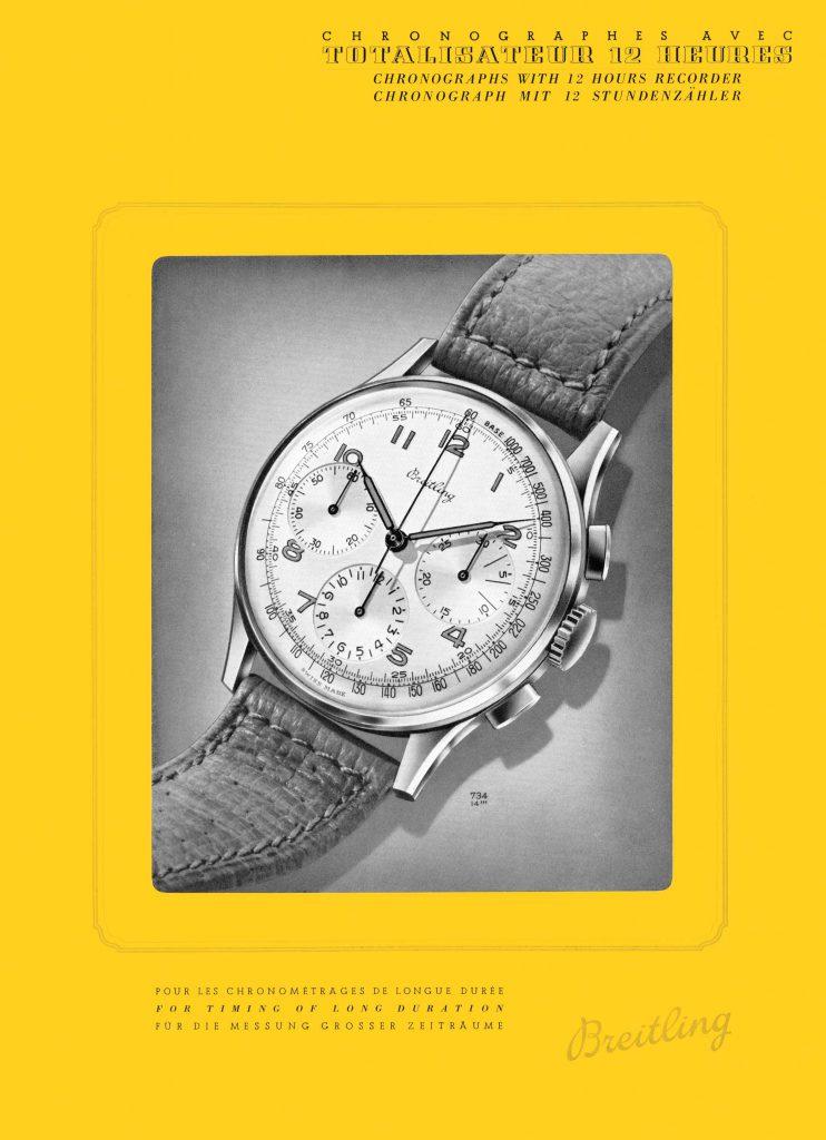 1946 Breitling Premier vintage advertisement (PPR/Breitling)