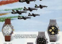 23_Breitling Catalog from 1987 showing the Chronomat